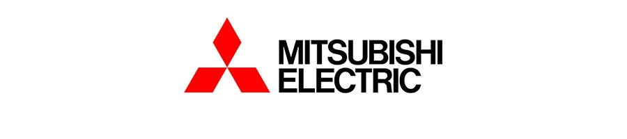 mitsubishi electric logo.