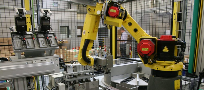 robot automation in factory